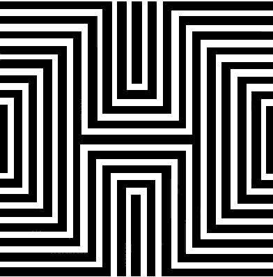 Illusion d 39 optique combien de carr s blague du jour - Coloriage illusion d optique ...