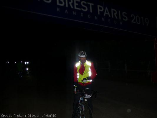 Arrivée de Paris Brest Paris 2019