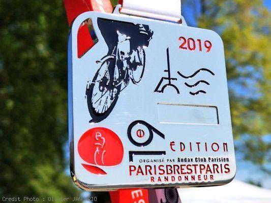 Médaille de Paris Brest Paris 2019