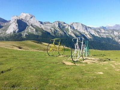 Les vélos géants du Col d'Aubisque
