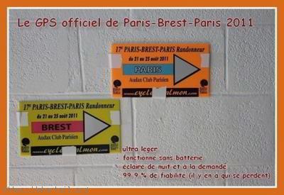 GPS Paris Brest Paris