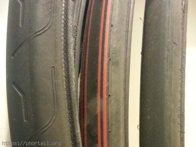 Des pneus secs