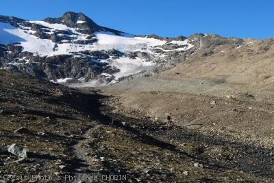 Val d-Isère le long du Ruisseau des Fours