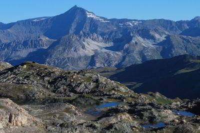 Val d-Isere au dessus du Ruisseau des Fours