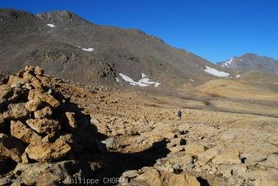 Val d'Isère sous le Col du Pisset