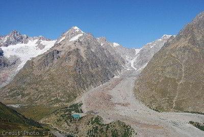 Glacier Miage