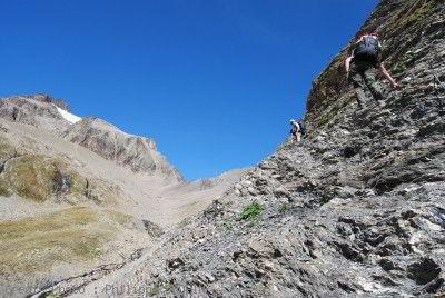 Ruisseau des Cabottes Tour du Mont Blanc