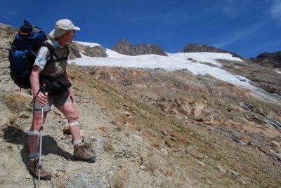 glacier des Glaciers Tour du Mont Blanc