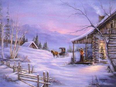 Carte de voeux cal che dans l 39 hiver de no l blague du jour - Jour de l hiver ...