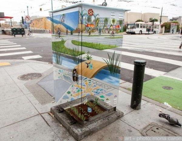 le mobilier urbain invisible
