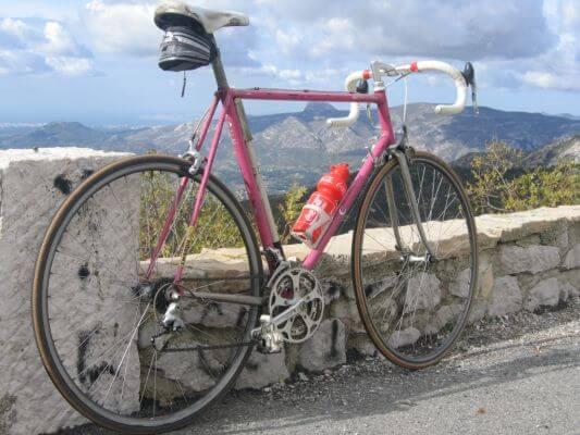 L'espigoulier à vélo